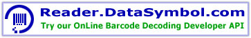 Reader.DataSymbol.com barcode decoder developer API