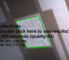 AztecCode reader