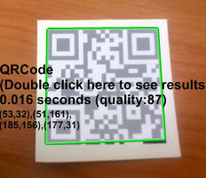 QRCode reader