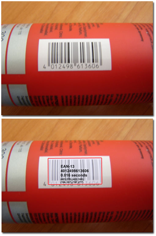 Decoded Barcode