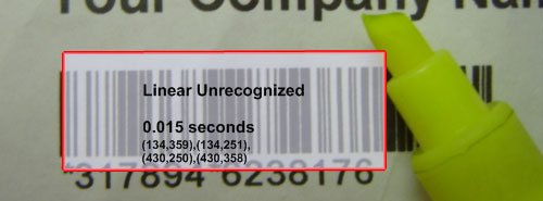 Find undecoded barcodes