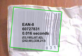 Decodes uneven exposured barcode images